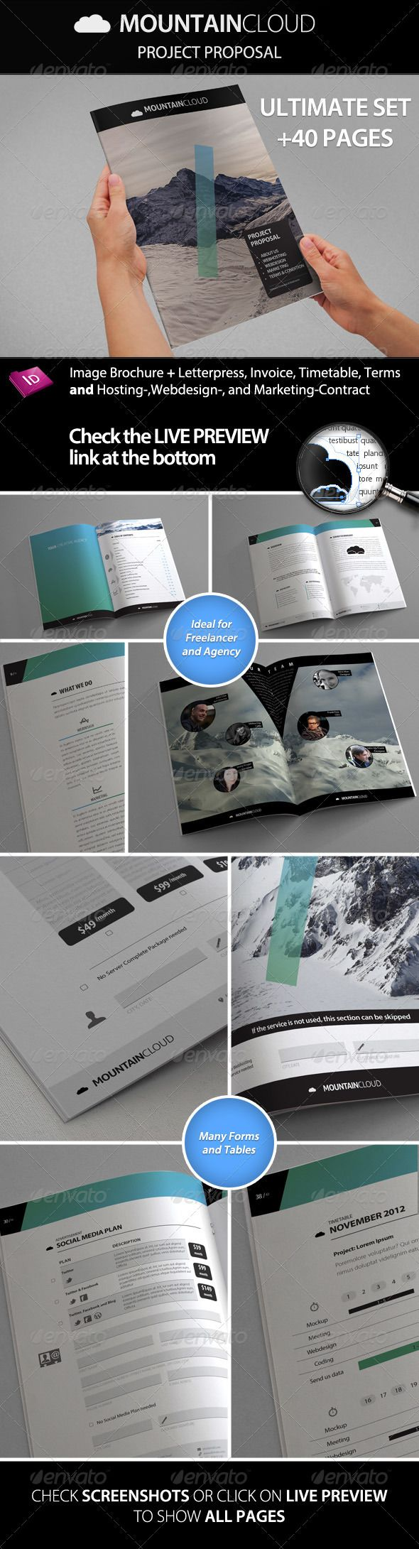 Best Reports Images On   Editorial Design Layout