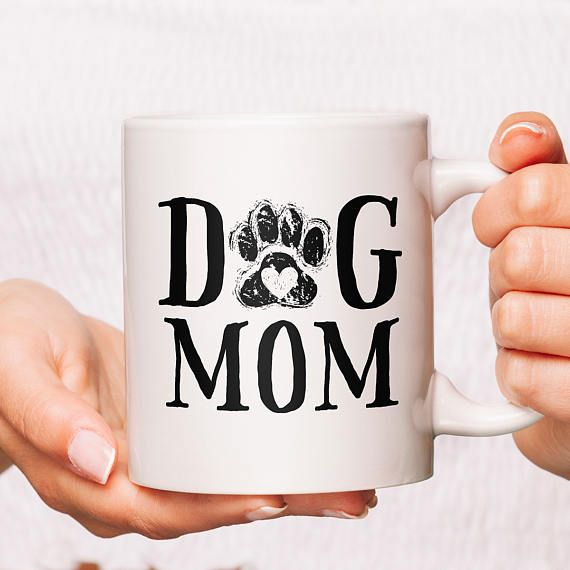 Dog Mom Dog Mom Gift Dog Mom Mug Stay At Home Dog Mom