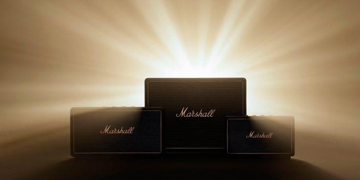 Marshall anuncia multi-habitación AirPlay del altavoz de gama, con tres modelos