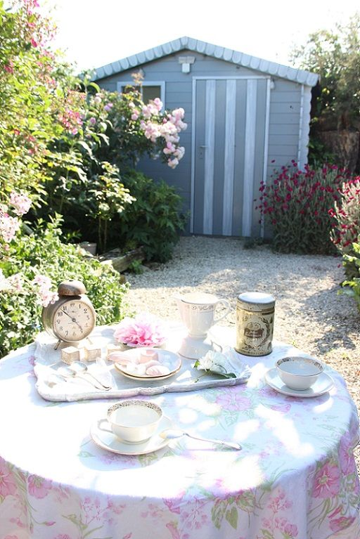 Tea time au jardin