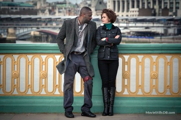 """""""Luther"""" Idris Elba and Ruth Wilson"""
