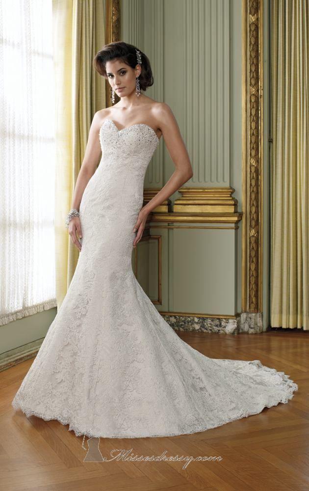 Melissa Rivers Wedding Gown Train_Wedding Dresses_dressesss