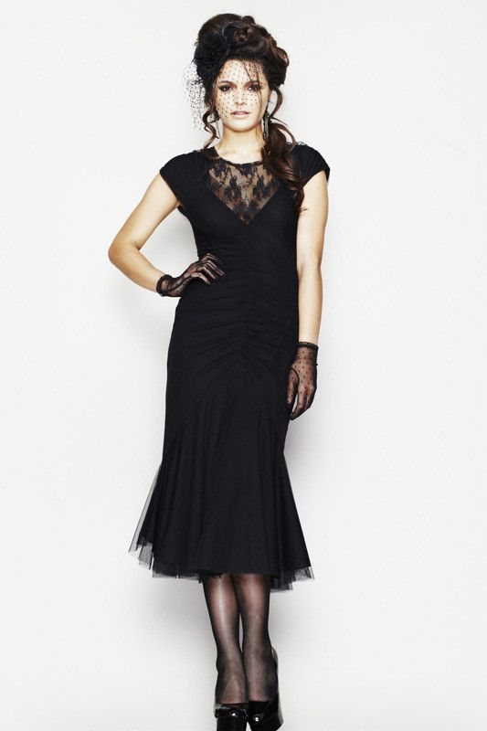 Sukienka ARIANA DRESS, marki Hell Bunny | KOBIETY \ Sukienki | Rockzone.pl - rockowy sklep internetowy