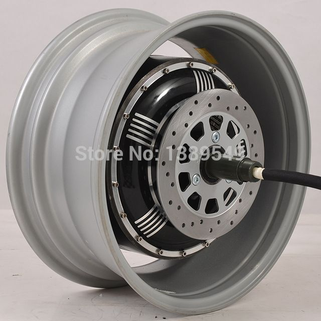 Electric Car Hub Motor 273 4000W Extra Type/V3 In-wheel Hub Motor                                                                                                                                                                                 More