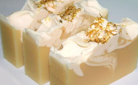 Lemon Chamomile Handmade Soap by SamaiaSkincare. Another gorgeous calming soap.
