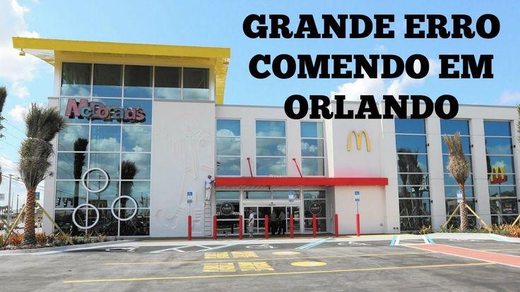 Grande Erro Comendo em Orlando