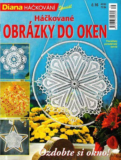 Firanki (zawieszki do okien) - Urszula Niziołek - Álbuns da web do Picasa.. Hanging window motif and diagrams!