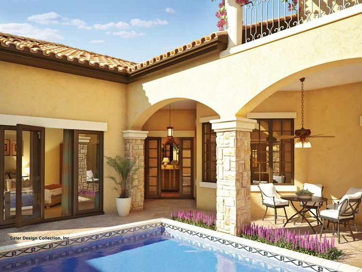 17 Best ideas about Mediterranean Homes Plans on Pinterest  Mediterranean houses, Mediterranean