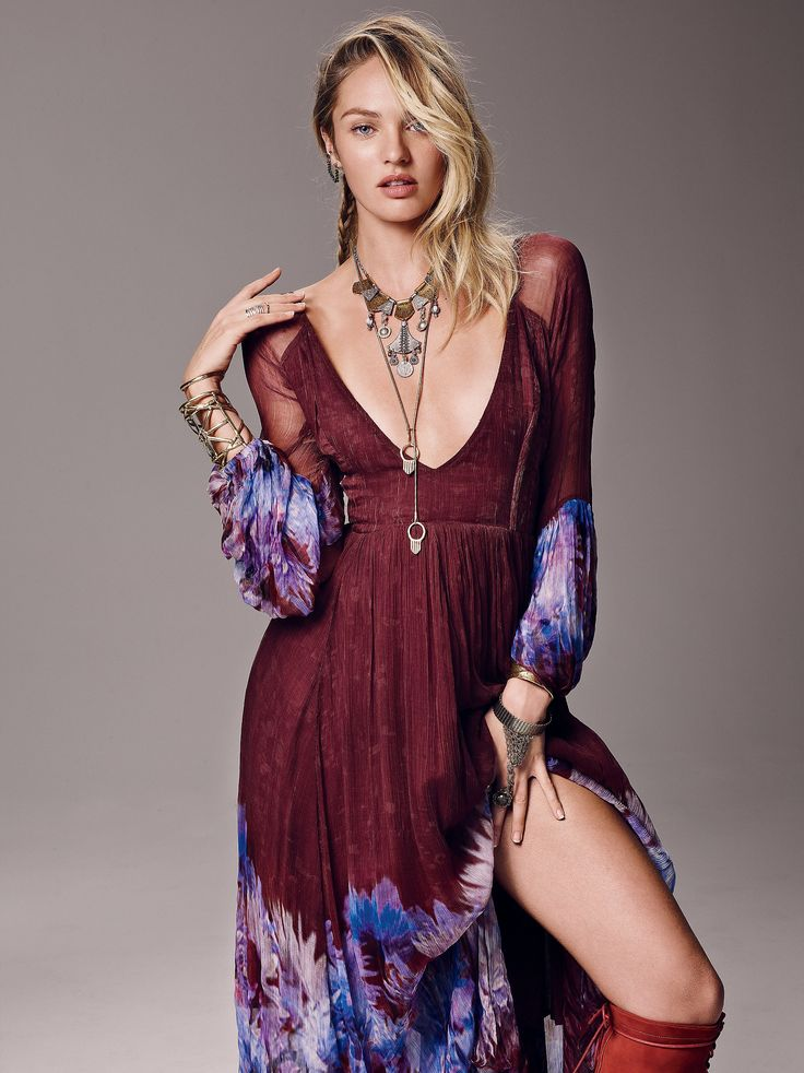 Dazed Dream Maxi Dress at Free People Clothing Boutique - Candice Swanepoel