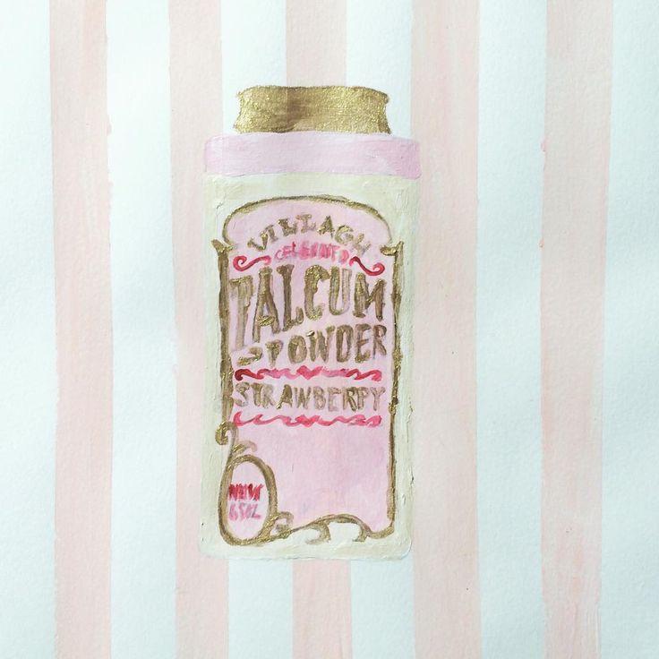 #illustration #art #paint #painting #Vintage #vintagetins #tin #powdertin #powder #pink #pinkgold #striped #artwork #artgram #paintoftheday #virginia #アート#ヴィンテージ #レトロ #イラスト #アクリル画 #ピンク #ストライプ #ガーリー #girly #バージニア州 #海外生活 #ペイント #alexandria