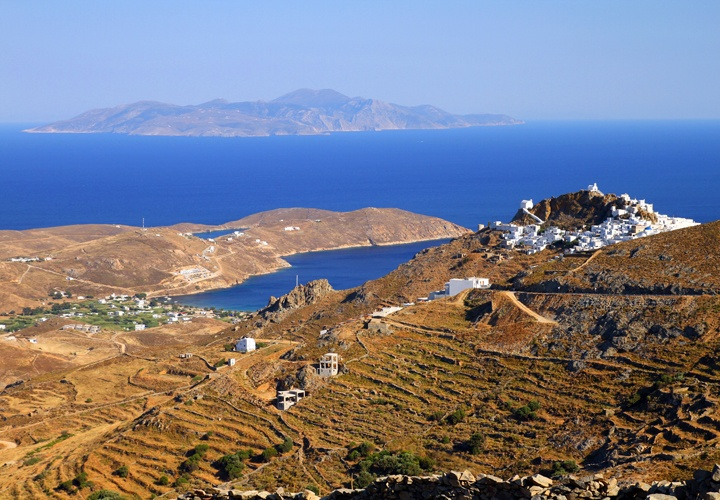 GREECE CHANNEL | serifos view