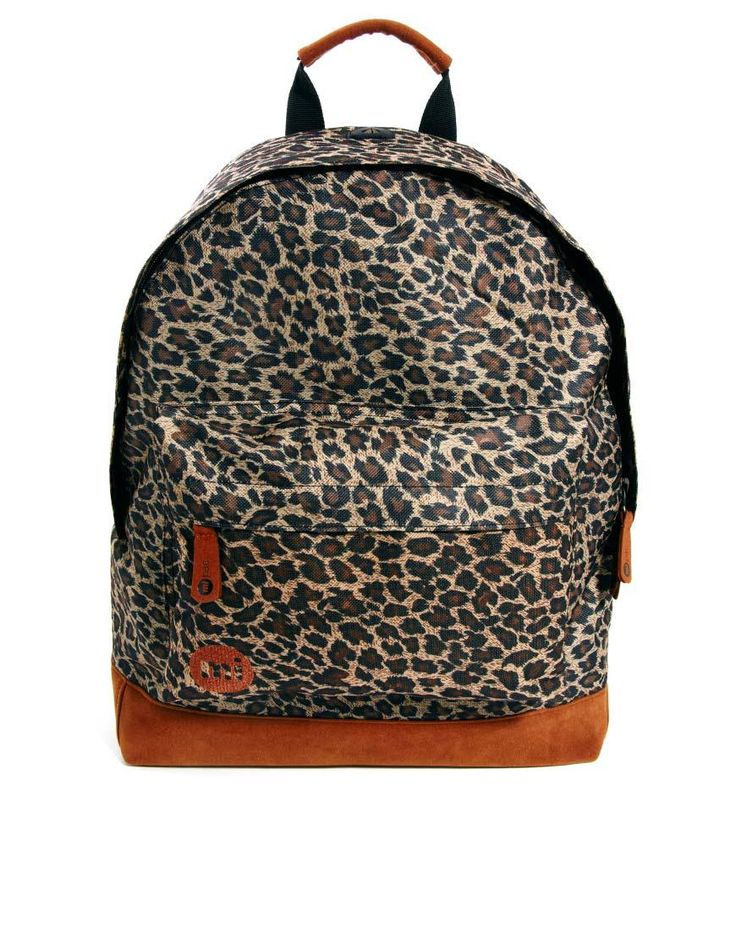 Mi-Pac | Mi-Pac Leopard Backpack at ASOS