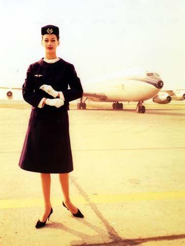 Air stewardess air france 6