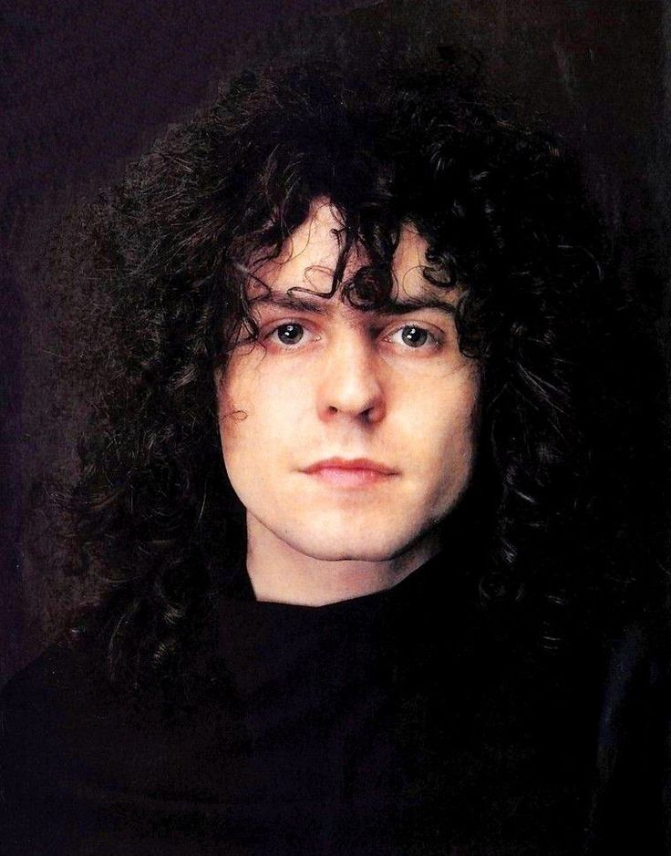 Marc Bolan of T. Rex.  I'm really getting into them right now.  They kind of sound like Southern Rock even though they are from Britain.