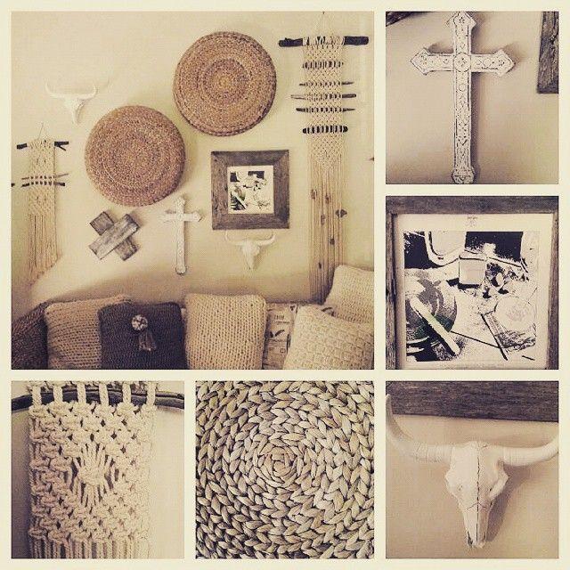 Wolf + yarzz macrame wall hangings and crochet cushions feature here #macrame #walldecor #wallhanging #boho #bohostyling #bohostyle #interiorstyle #skull #ledzepplin#recordsleeve#wicker#crosses #cross#craft#knots#recycled #timber #crochetcushions #crochet #cushions #cushion#wool#rope #wolfandyarzz #handcrafted #handmade @lee.alford.585 @yarzz666