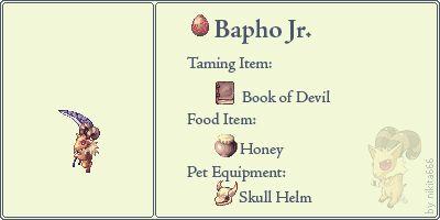 Bapho Jr. Pet