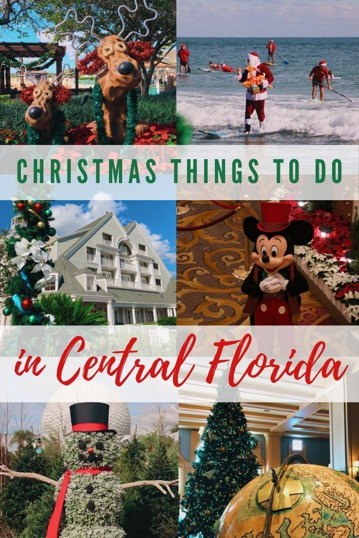 Christmas Events In Central Florida 2020 How to Celebrate the Holidays in and around Orlando for 2019 in