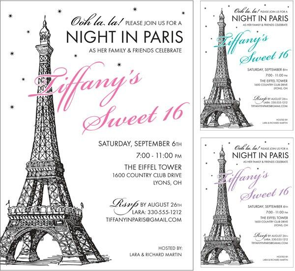 Passport Themed Invitations as nice invitation ideas