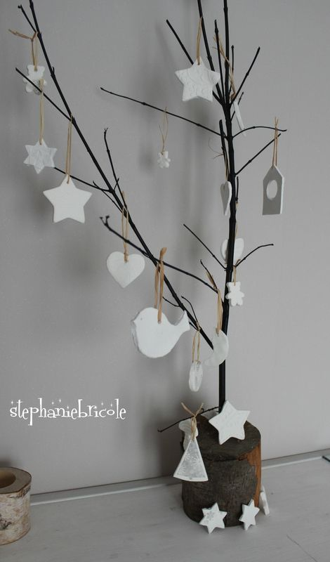 DIY décorations de noël - pâte durcissante à l'air