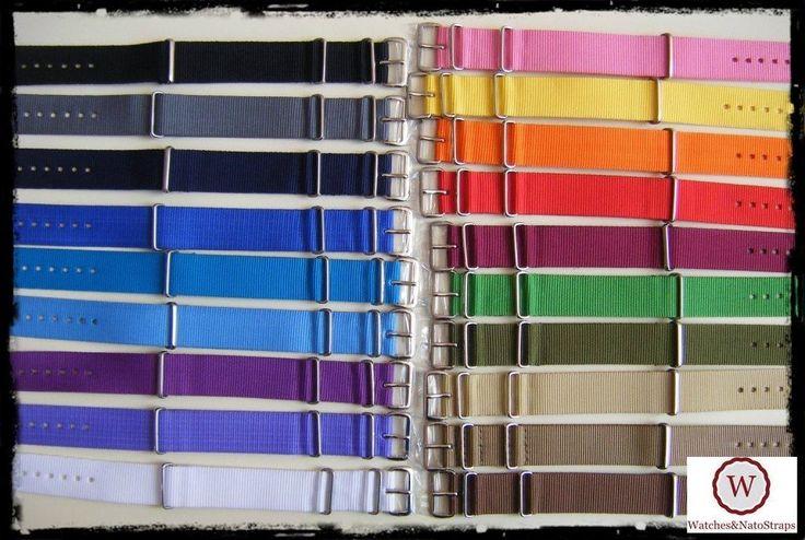 Cinturini NATO G10 strap misure:18-20-22-24-26mm. Nylon Straps. ENTRATE!!!   eBay