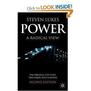 Power: A Radical View: Steven Lukes
