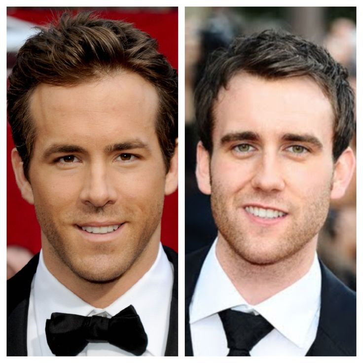 Ryan Reynolds And Matthew Lewis They Could Easily Pass As