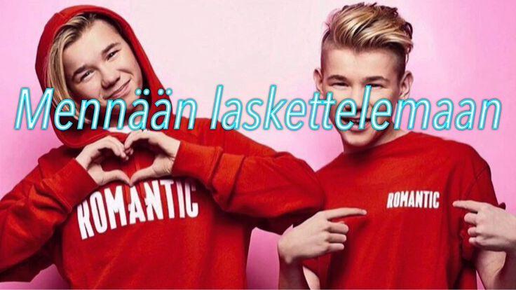 Marcus & Martinus - Slalom (finnish lyrics)