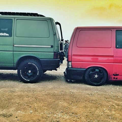 Vw T4 high & low