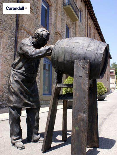 Tonelero #escultura #CarandellArt #Tonelero