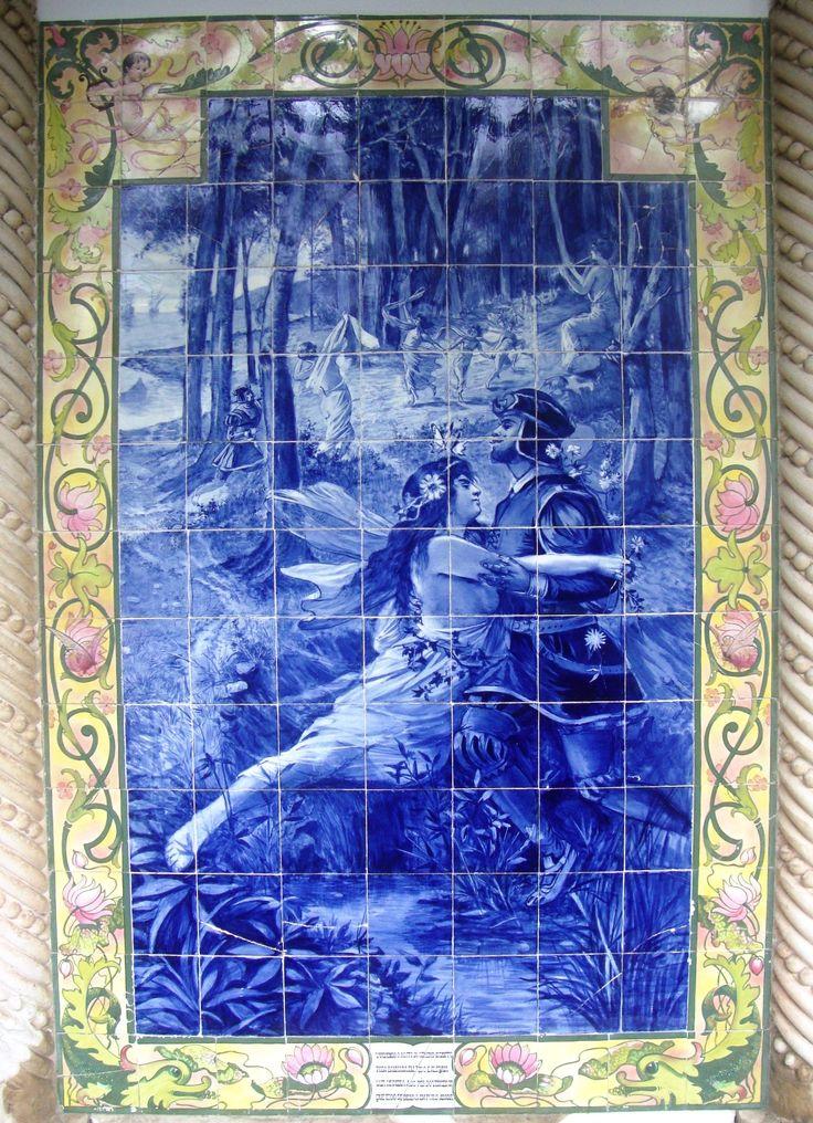 Jorge Colaço | Luso | Palace Hotel do Bussaco | 1904-1906 [© Patrícia Nóbrega] #Azulejo #Bussaco #JorgeColaço