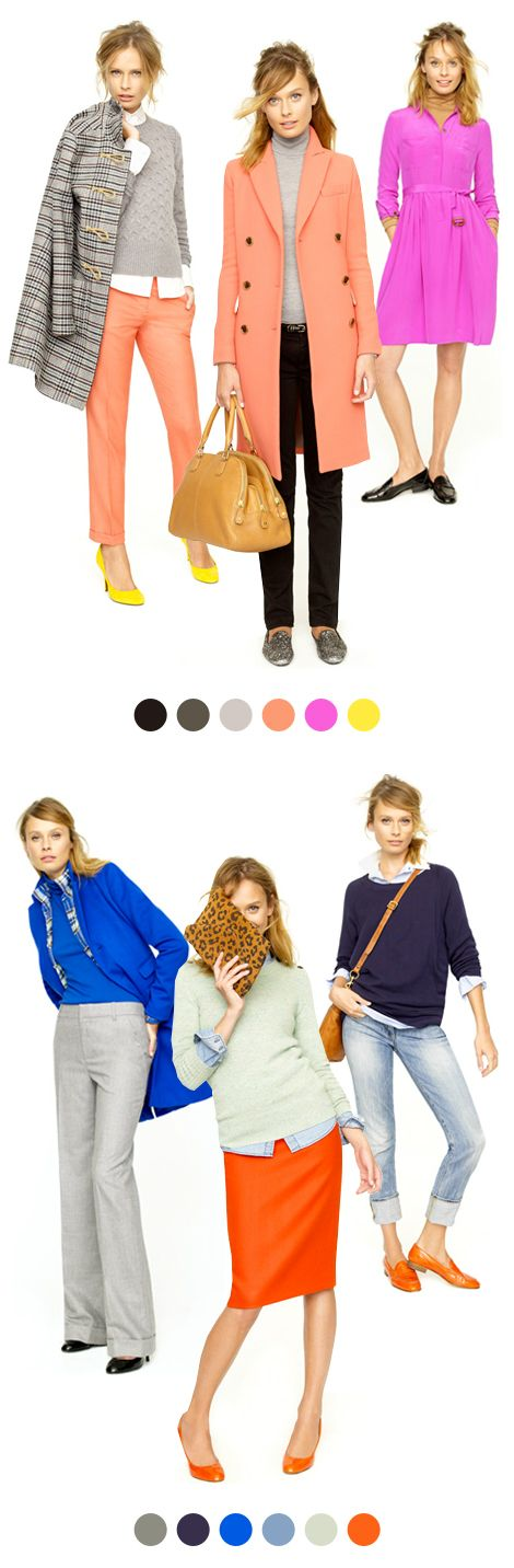 "THIS is the J. Crew I know and love...why they refuse to stick with this and every so often lapse into trendy H looking garbage is beyond me. I actually had a bunch of hipsters tell me ""go back to Lands End, old lady"" when I dared complain as much on the J. Crew FB page!!!! Ha!"