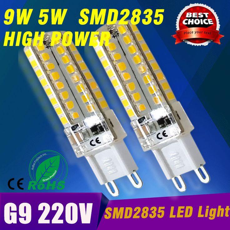 Дешевое G9 из светодиодов мозоли сид 6 Вт 9 Вт SMD2835 Sillcone тела мини из светодиодов лампы 220в 240 В хрустальная люстра пятно света бесплатная доставка, Купить Качество Светодиодные лампы и трубки непосредственно из китайских фирмах-поставщиках:              1 шт. Светодиодная лампа G9 5 Вт 9 Вт G9 Светодиодный прожектор  Лампа G9 светодиод