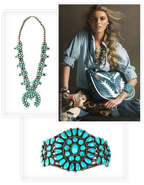 Bijoux American Vintage : Best images about bijoux on turquoise