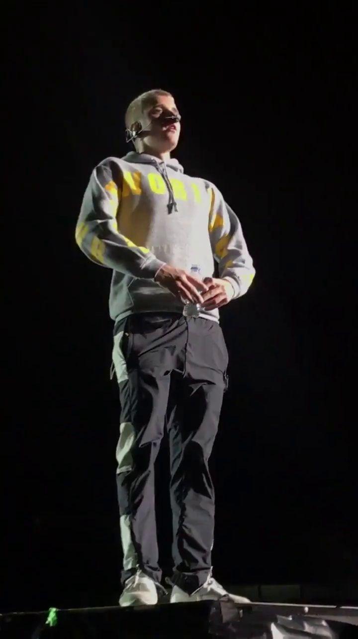"bieber-news: "" April 12: Fan taken video of Justin performing 'No Pressure' in Bogota, Colombia. """