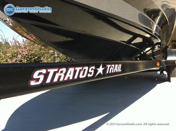 16 best stratos bass boats images on pinterest boats for Fishing boat decals