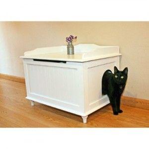 arenero gatos banco