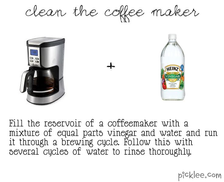 Best Coffee Maker Cleaner : 25+ best ideas about Clean coffee makers on Pinterest One cup coffee maker, Descale keurig and ...