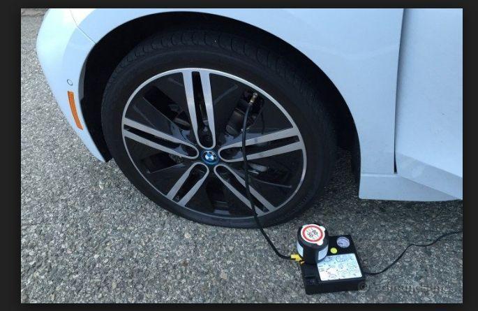 BMW  Digital Car ,Van Tyre Inflator air Pump Compressor, tyre sealant 350ml #BMW