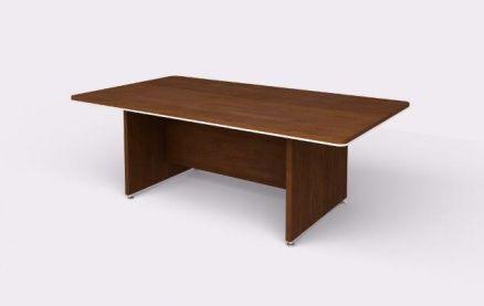 Rokovací stôl Wels, 2200x1200 mm, gaštan   B2B Partner