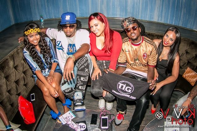 Photos: Trinidad James And Rich Homie Quan Celebrate BET Noms- http://getmybuzzup.com/wp-content/uploads/2014/06/Group-Chillin-with-Ms-Monroe.jpeg- http://getmybuzzup.com/photos-trinidad-james-rich-homie-quan-celebrate-bet-noms/- Hip-Hop stars Rich Homie Quan and Trinidad James kicked off the BET Awards Weekend with a red carpet daytime soiree, hosted by (The Ambassador) Earl Stevens Selections and powered by Monster®, inside Cosmo Hollywood to celebrate their nominati