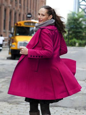 I love this coat...it's similar to my new Raspberry Forever New number.  The photo is gorgeous too