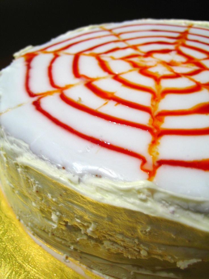 Orange marmalade cake wheat and lactose free.
