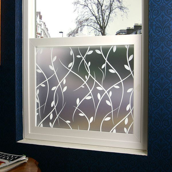 Vines privacy window film adhesive privacy window film for Window film lowes