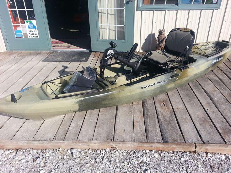 15 best fishing kayaks ck images on pinterest kayaking for Native fishing kayak
