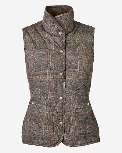 Eddie Bauer : Women's Year-Round Field Vest - Plaid