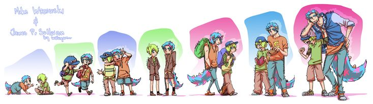 MU : mike and sulley by makiyan on DeviantArt
