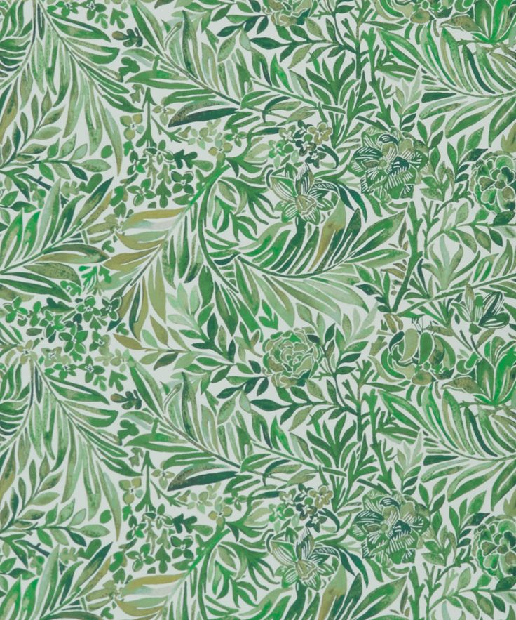 Liberty Art Fabrics Orchard Wallace Secret Garden Wallpaper | Home | Liberty.co.uk