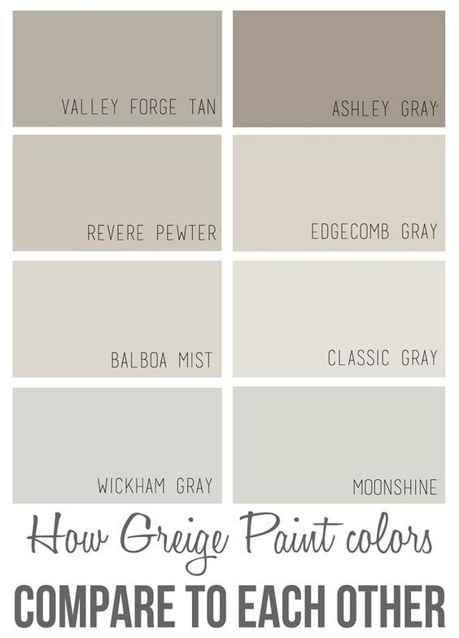 17 best images about paint whole house color palette on for List of neutral colors