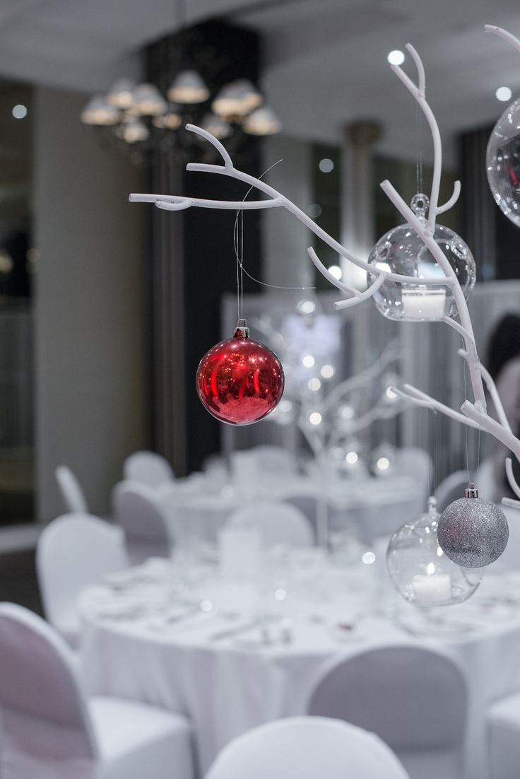garden party wedding venues melbourne%0A Wedding venues    Christmas is just around the corner  Christmas centrepiece  in the Ballroom at the Royce Hotel