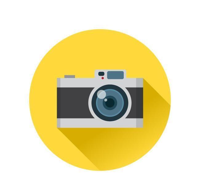 كاميرا خلفية ملصق الدائرة الصفراء Sari Hobi Bahceleri